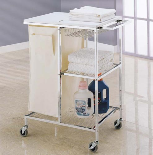 Captivating Mobile Laundry Station Image