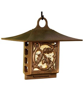 Suet Bird Feeder - Oak Leaf Image