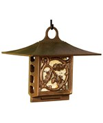 Suet Bird Feeder - Oak Leaf