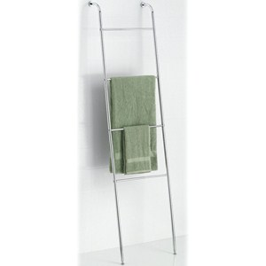 Leaning Towel Ladder - Chrome Image