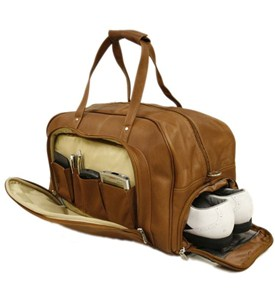 Leather Duffel Bag Image