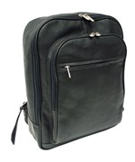 Leather Laptop Backpack with Front Pocket by Piel Leather