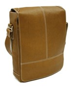 Leather Laptop Messenger Bag