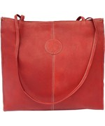 Leather Market Tote Bag - Medium