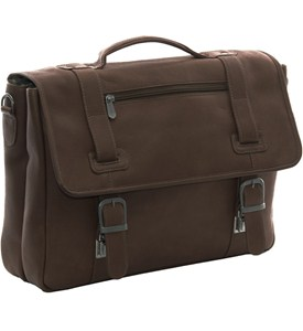 Leather Soft Sided Briefcase Image