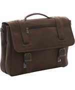 Leather Soft Sided Briefcase