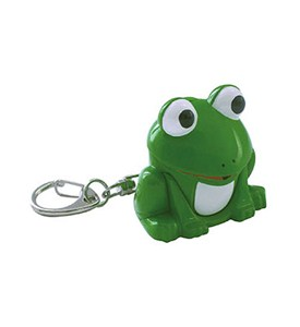Frog Key Chain and LED Flashlight Image