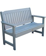 Synthetic Wood Garden Bench