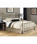 Leighton Antique Brass Bed by Fashion Bed Group