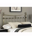 Leighton Antique Brass Headboard by Fashion Bed Group