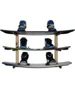 Level Wakeboard Wall Rack