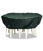Reversible Large Round Vinyl Table Cover