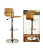Lidell Wood Bar Stool - by Wholesale Interiors