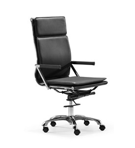Lider Plus High Back Office Chair by Zuo Modern Image