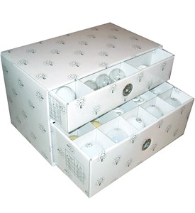 Light Bulb Storage Box Image