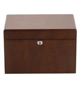 Light Walnut Jewelry Chest Image