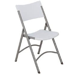 Molded Resin Folding Chairs (Set of 4) Image