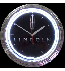 Lincoln Neon Clock by Neonetics Image