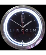 Lincoln Neon Clock by Neonetics