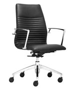 Lion Low Back Office Chair by Zuo Modern