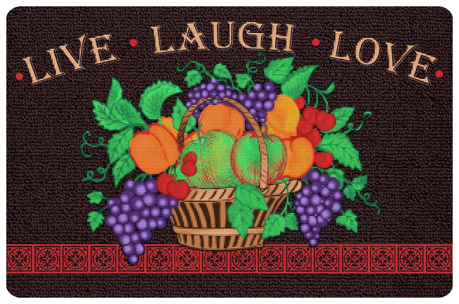 Live Laugh Love Kitchen Mat Floor Mats