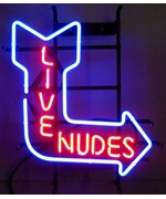 Live Nudes Neon Sign - by Neonetics - 5NUDE