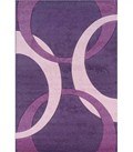 Living Room Area Rug - Purple and Pink