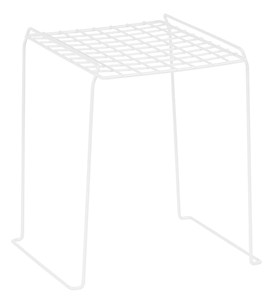 Locker Organizer Shelf - White Image