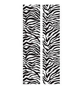 Locker Stickers - Zebra (Set of 2) Image