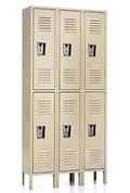 Double Steel Locker