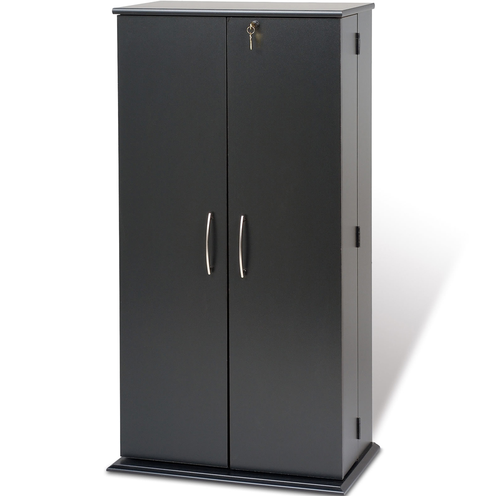 Storage Cabinet With Locking Doors Locking Media Storage Cabinet Tall In Media Storage Cabinets