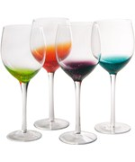 Long Stem Wine Glasses - Fizzy Style