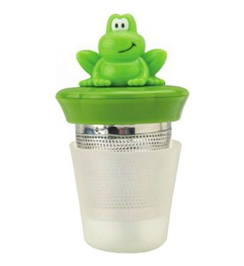 Loose Leaf Tea Infuser - Frog Image