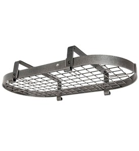 Low Ceiling Oval Pot Rack Image