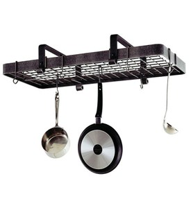Low Ceiling Rectangle Pot Rack Image