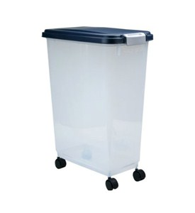 large airtight storage container 47 quart in pet food storage. Black Bedroom Furniture Sets. Home Design Ideas