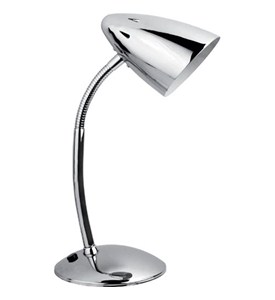 Bullet Desk Lamp - Chrome Image