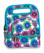 Lunch Tote - Blue Blossom