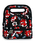 Lunch Tote - Red Carnation