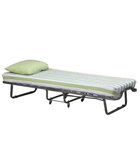 Luxor Folding Bed With Memory Foam by Linon Image