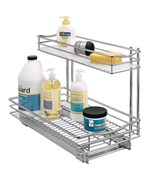 Pull-Out Under Sink Organizer - Chrome