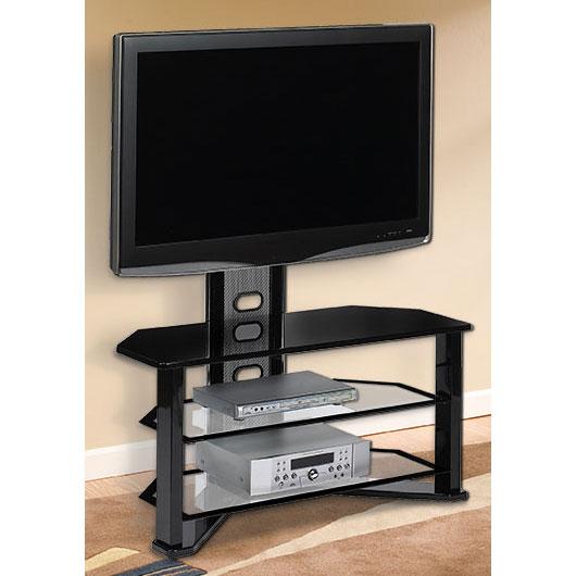 Madrid Contemporary TV Stand  Integrated Mount in TV Stands -> Contemporary Tv Stands