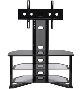 Madrid Contemporary TV Stand - Integrated Mount Image