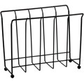 Standing Magazine Rack - Black Wire