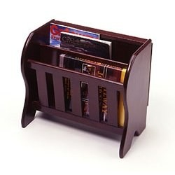 Magazine Rack with Folding Tabletop Image