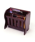 Magazine Rack with Folding Tabletop