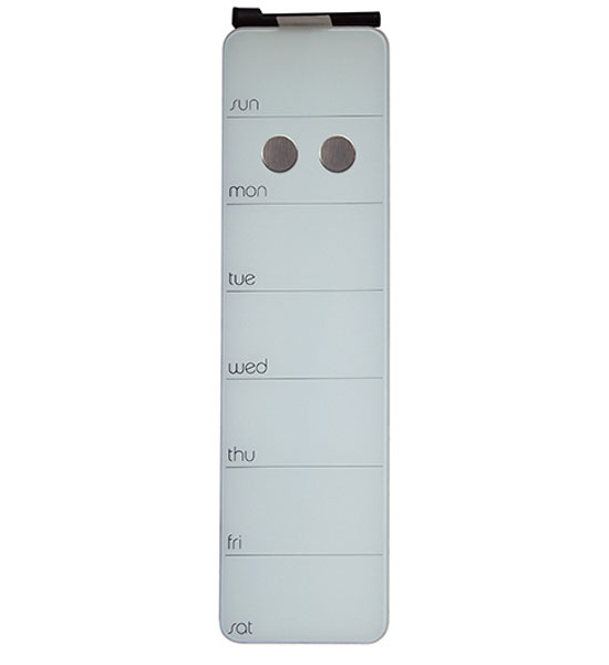 Magnetic Dry Erase Board - Weekly Planner in Dry Erase Boards