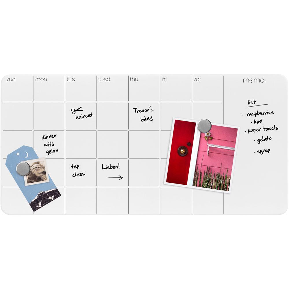 Dry Erase Calendar Magnetic : Magnetic dry erase calendar in boards