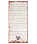 Magnetic Shopping List Pad - Rooster