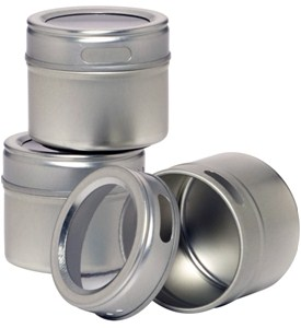 Magnetic Storage Tins (Set of 3) Image